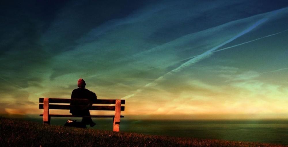 solitudine davanti al mare 2