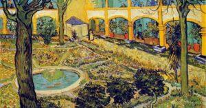 Il giardino dell'ospedale, 1889