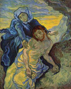 Pietà (da Delacroix), 1889