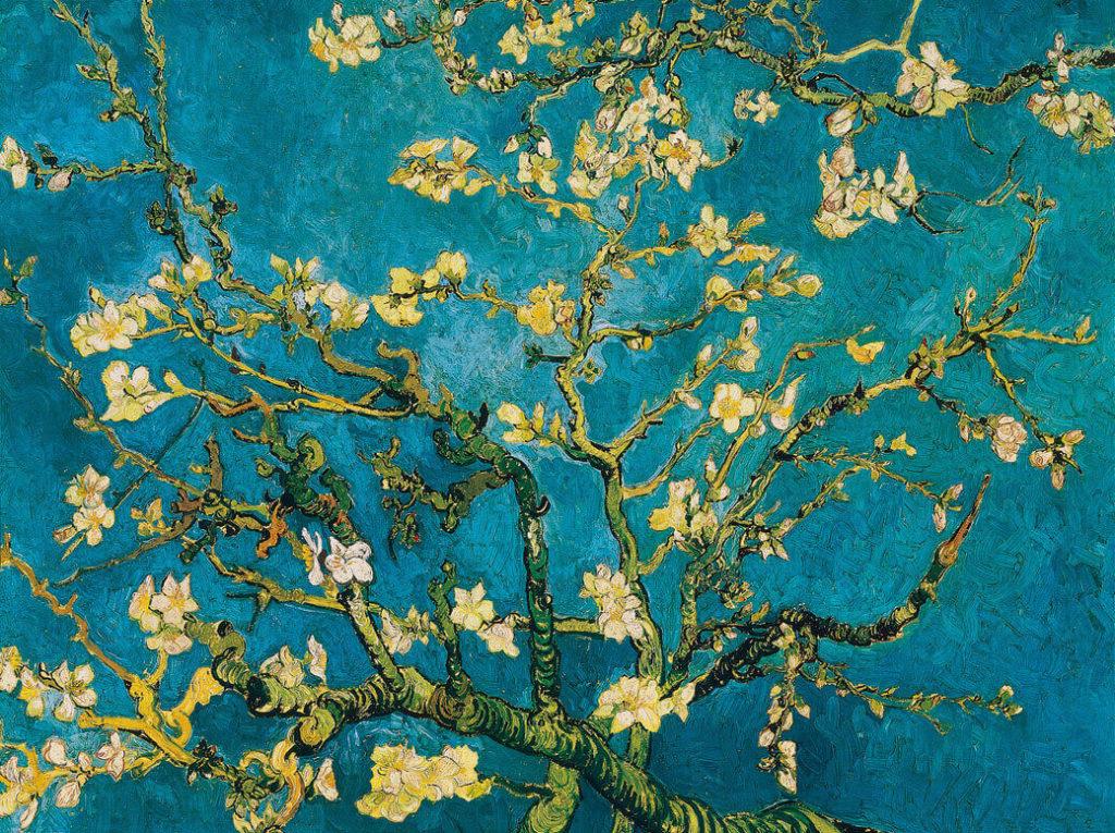 Mandorlo in fiore, 1890