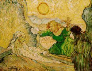 La resurrezione di Lazzaro, 1890